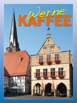 Kaffee-Etikett-Werne